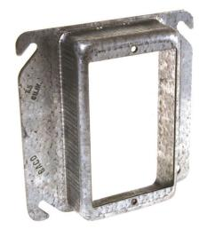 square 1 device mud ring with 1 2 in raised [ 1000 x 1000 Pixel ]