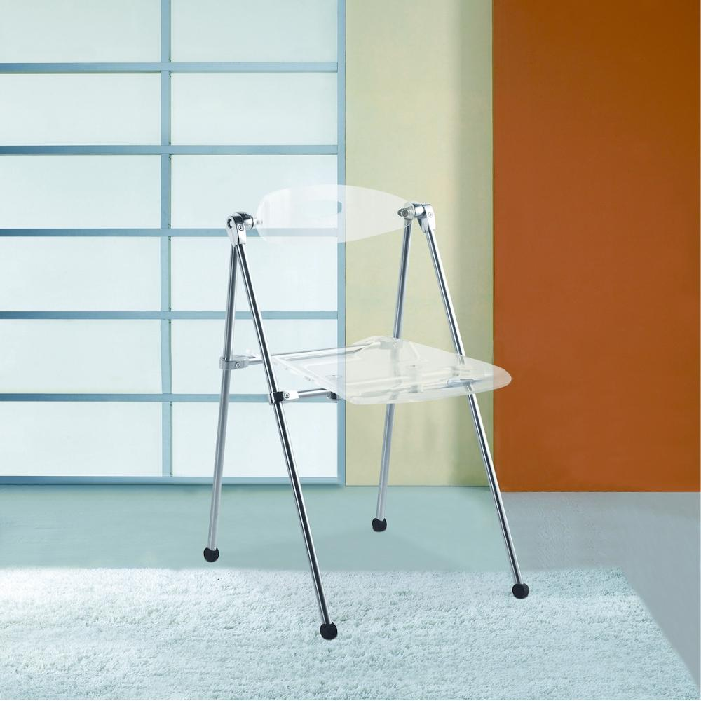 Acrylic Clear Folding ChairFMI9232CLEAR  The Home Depot