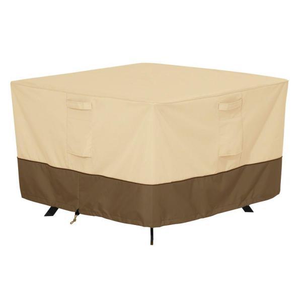 Classic Accessories Veranda Large Square Patio Table Cover-55-567-011501-00 - Home Depot