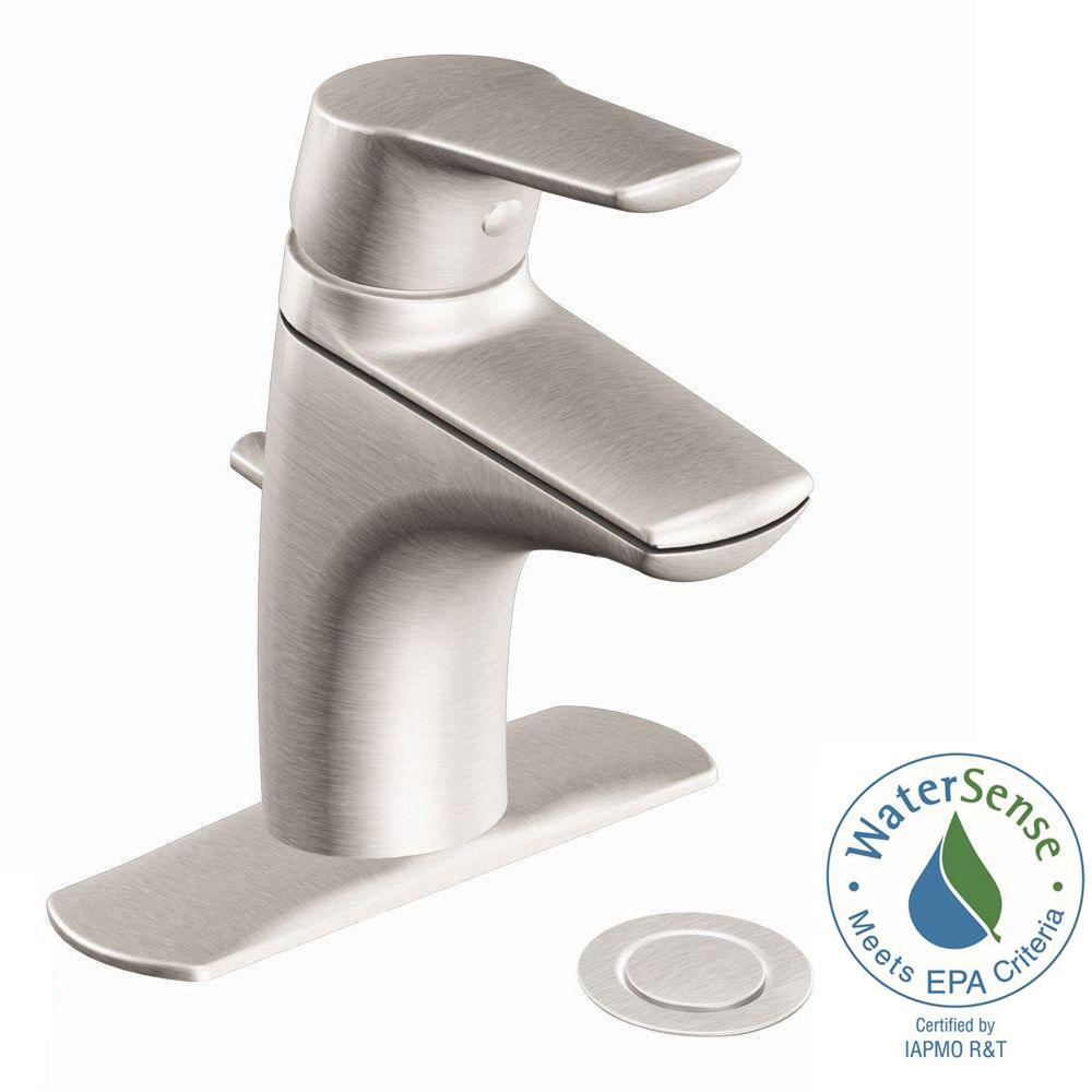 MOEN Method Single Hole Single Handle Bathroom Faucet in