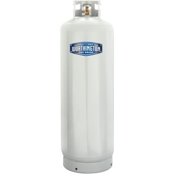 Worthington Pro Grade 100 Lb Empty Propane Cylinder Liquid Refillable Lp Tank 14045431224