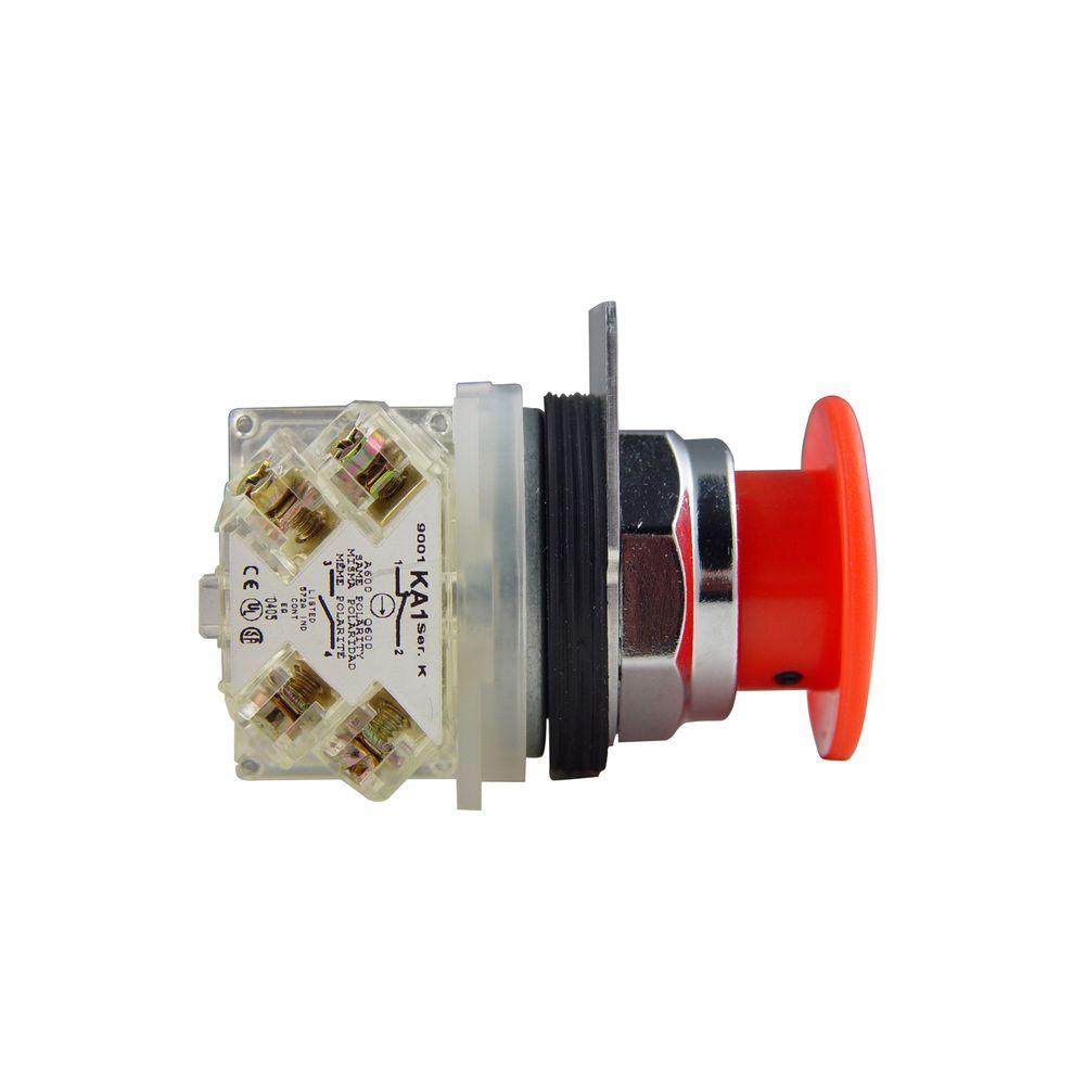 medium resolution of schneider electric 30 mm mushroom head maintained push button switch