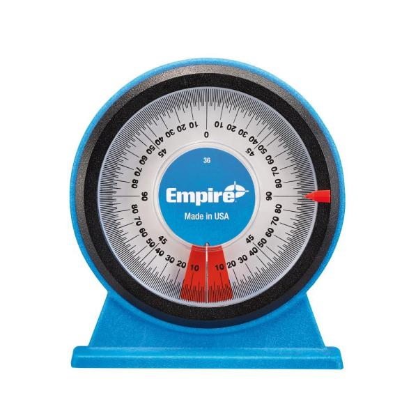 Empire Polycast Magnetic Protractor-36 - Home Depot