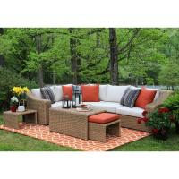 AE Outdoor Arizona 8-Piece All-Weather Wicker Patio ...