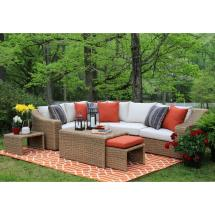 Ae Outdoor Arizona 8-piece -weather Wicker Patio