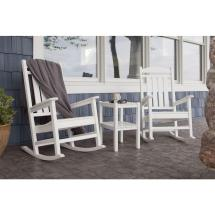 3 Piece Patio Set with Rocking Chairs