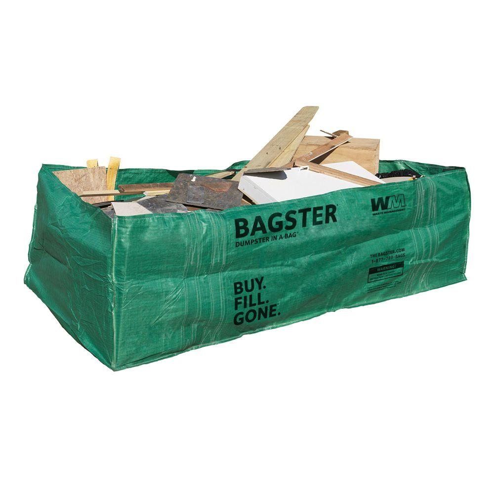 wm bagster dumpster in