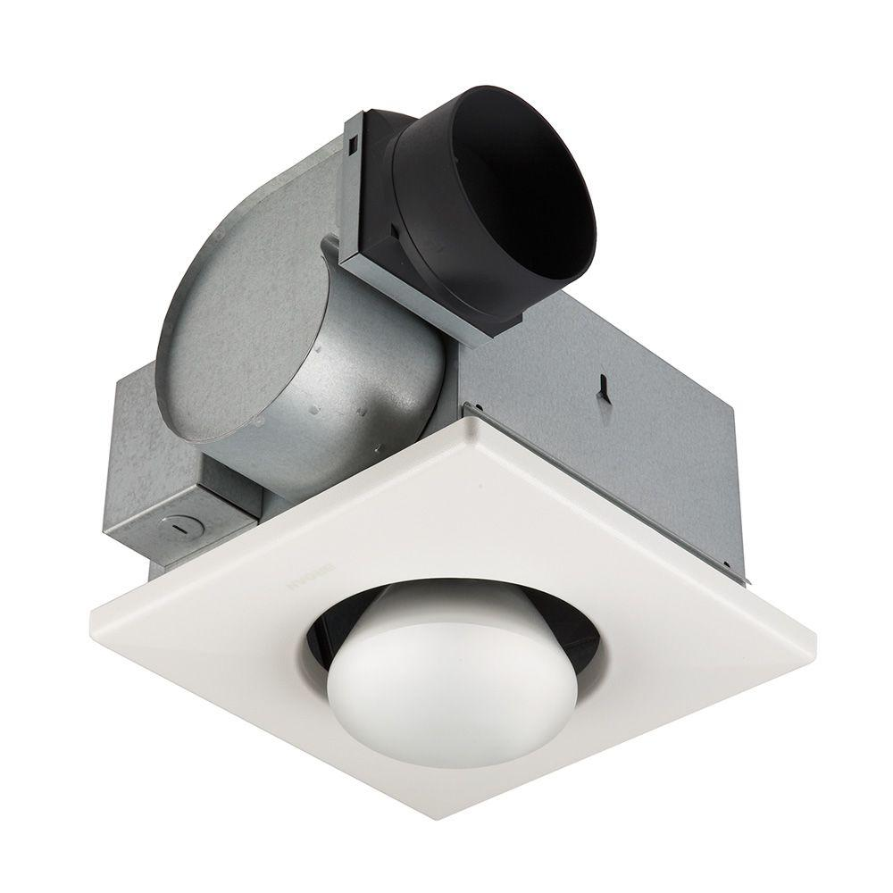 hight resolution of broan 70 cfm ceiling exhaust fan with 250 watt 1 bulb infrared heater