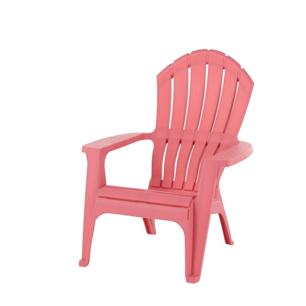 home depot chairs plastic top ergonomic desk realcomfort flamingo adirondack chair 8371 93 4303 the