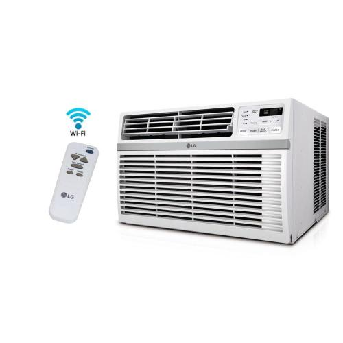 small resolution of lg electronics 8 000 btu window smart wi fi air conditioner with remote