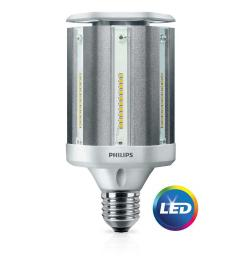 philips 100 watt equivalent ed28 hid post top replacement soft white daylight with warm glow [ 1000 x 1000 Pixel ]