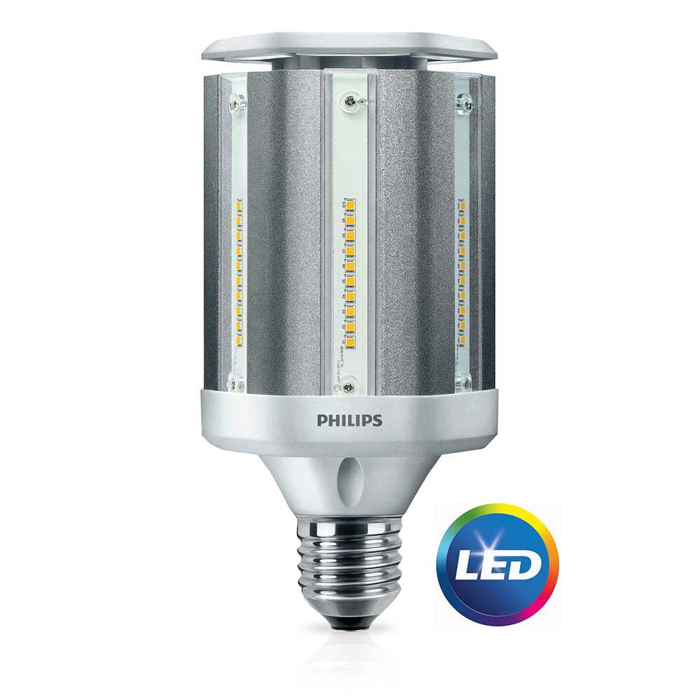 medium resolution of philips 100 watt equivalent ed28 hid post top replacement soft white daylight with warm glow