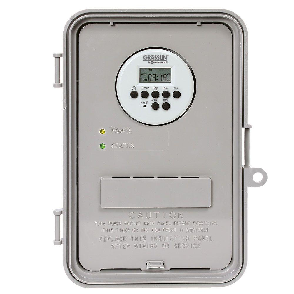 hight resolution of intermatic timers wiring devices light controls the home depot rh homedepot com gamut pump timers electric timers for pool pumps