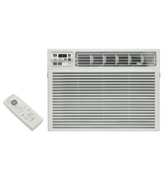 ge 115 volt electronic heat cool room window air conditioner [ 1000 x 1000 Pixel ]