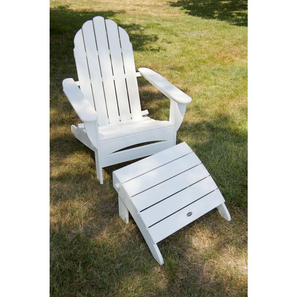 two red adirondack chairs meaning