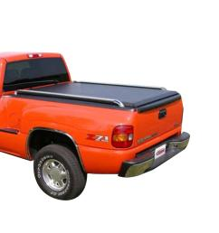 original 99 06 chevy gmc full size 6ft 6in stepside bed bolt on roll up cover [ 1000 x 1000 Pixel ]