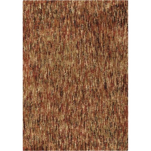Orian Rugs Multi-solid Red 7 Ft. 10 In. X In