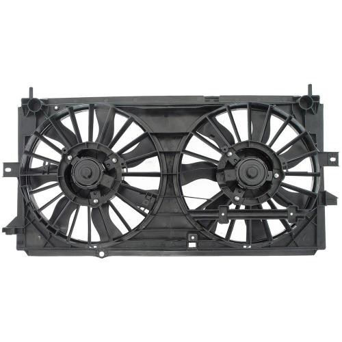 small resolution of dual fan assembly without controller 2000 2003 chevrolet impala 3 4l 3 8l