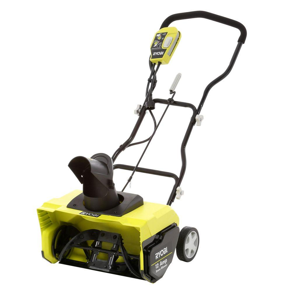medium resolution of 12 amp corded electric snow blower