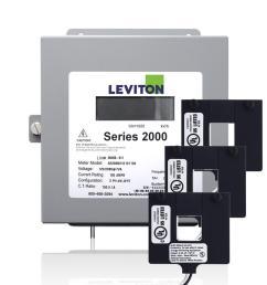 leviton series 2000 three phase indoor meter kit 208 volt 3p4 watt 100 [ 1000 x 1000 Pixel ]