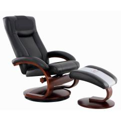 Oslo Posture Chair Review Diy Covers Pillowcase Mac Motion Chairs Collection Hamar Black Top Grain Leather Recliner With Ottoman And Cervical Pillow