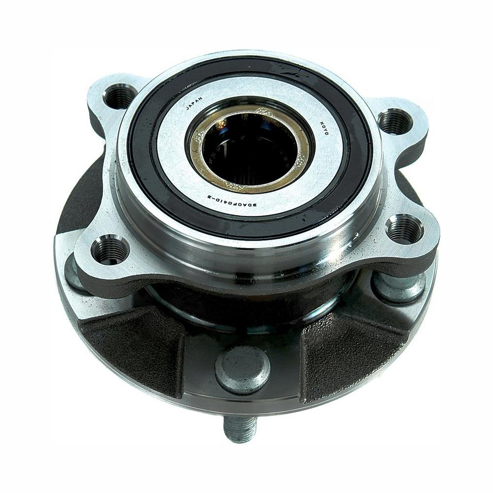 medium resolution of front wheel bearing and hub assembly fits 2006 2016 toyota rav4 prius v