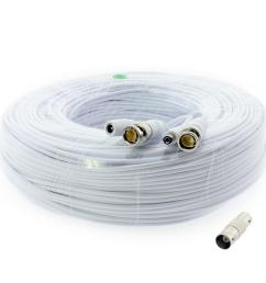 premium 1080p hd ready bnc video power extension cable [ 1000 x 1000 Pixel ]