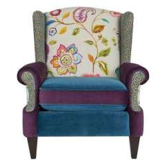 Colorful Accent Chair Walker Transport In One Hugo Navigator Removable Cushions Multi Colored Chairs The Anya Multicolored Arm