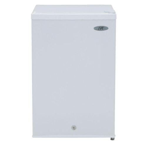 small resolution of upright freezer in white