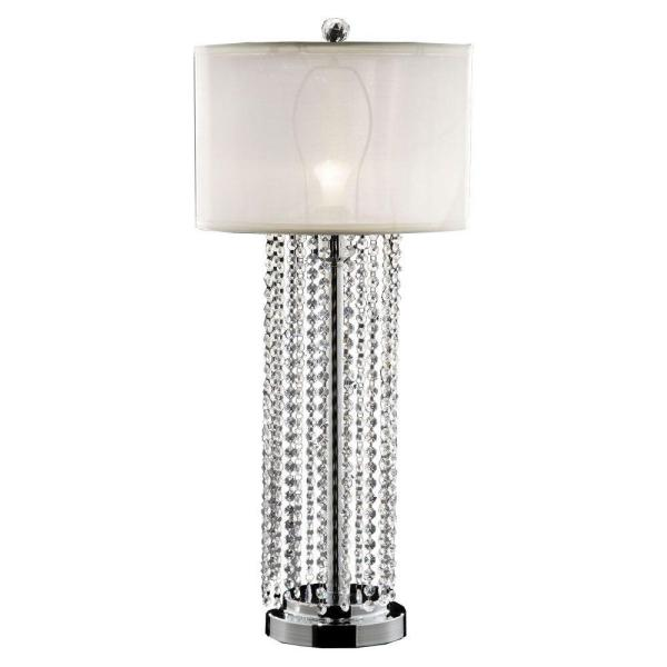 Lighting 30.5 In. Silver Simple Elegance Table Lamp