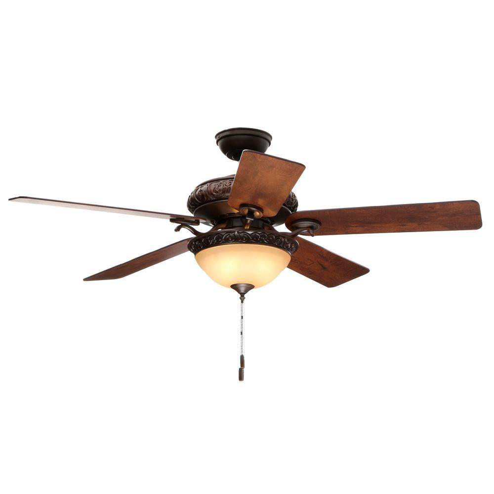 Hunter Vernazza 52 in. Indoor Brushed Cocoa Bronze Ceiling