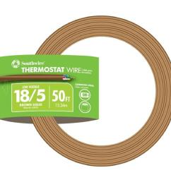 18 5 brown solid cu cl2 thermostat wire [ 1000 x 1000 Pixel ]