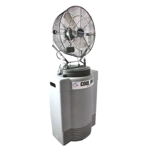 Ventamatic Mid Pressure 18 In. Misting Fan With Tank