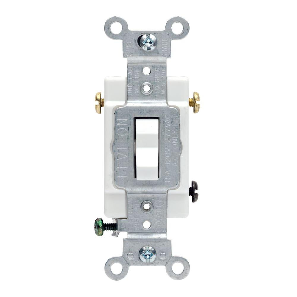medium resolution of leviton 20 amp 3 way commercial toggle switch white
