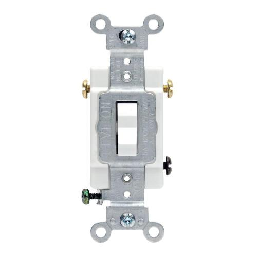 small resolution of leviton 20 amp 3 way commercial toggle switch white