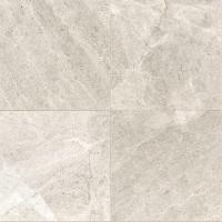 Daltile Arctic Gray 12 in. x 12 in. Natural Stone Floor ...
