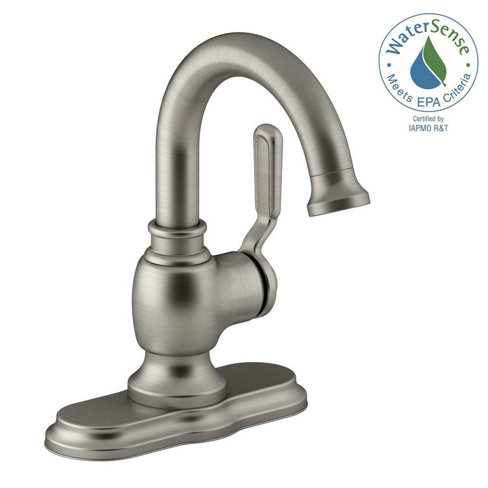 KOHLER Worth Single Hole 1Handle Bathroom Faucet in