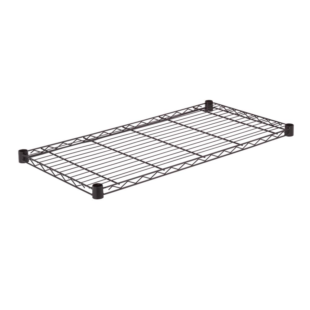 LocBoard 3/8 in. White Epoxy Powder Coated Steel Shelf
