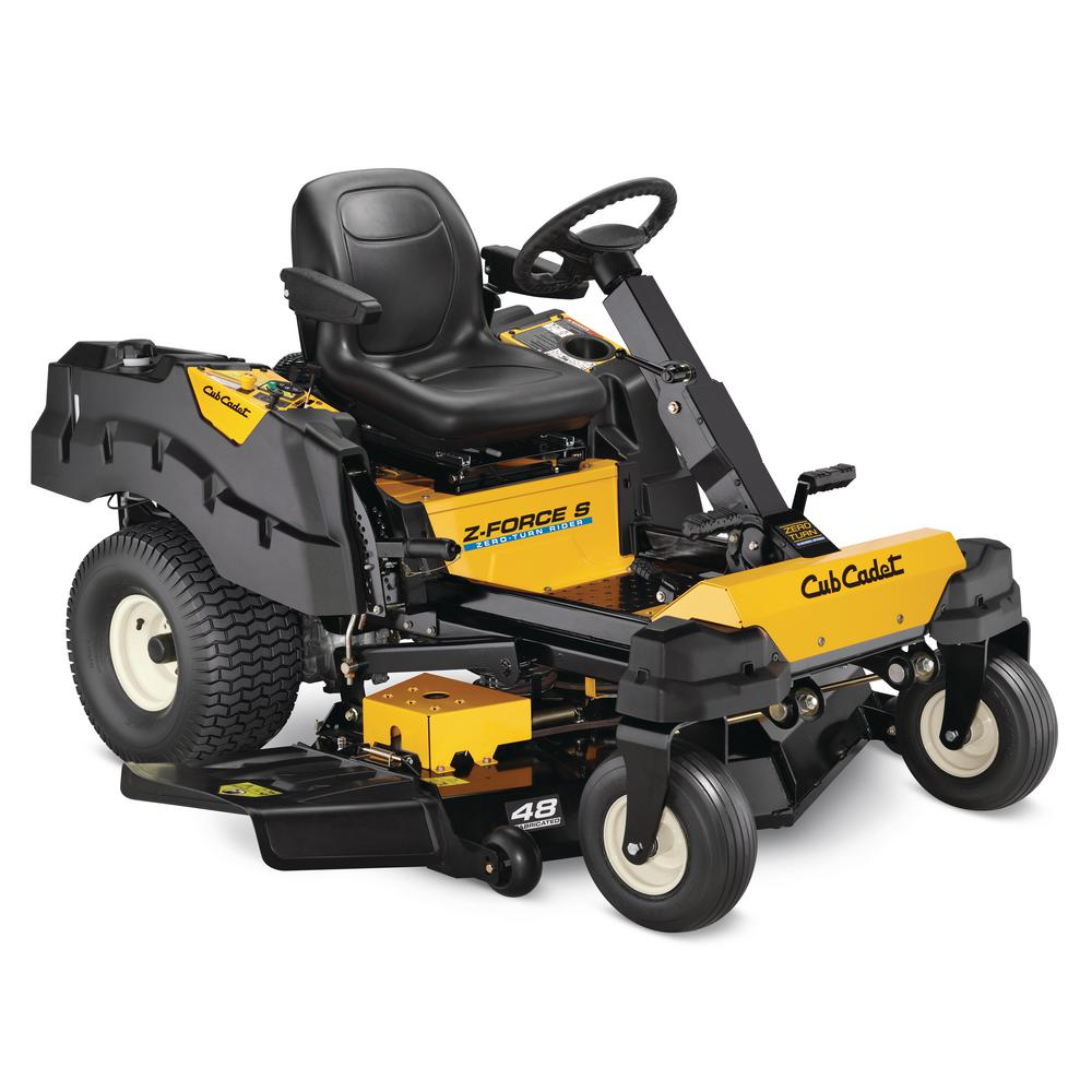 hight resolution of cub cadet z force s 48 in 24 hp fabricated deck kohler pro v twin rh homedepot com cub cadet electrical diagram cub cadet lt1050 electrical diagram