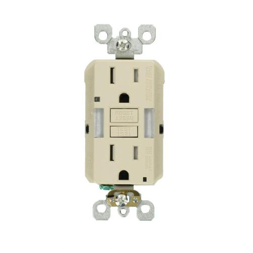 small resolution of leviton 15 amp self test smartlockpro combo duplex guide light and tamper resistant gfci outlet