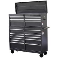 WEN 52 in. 18-Drawer Tool Chest and Cabinet Combo, Gray ...