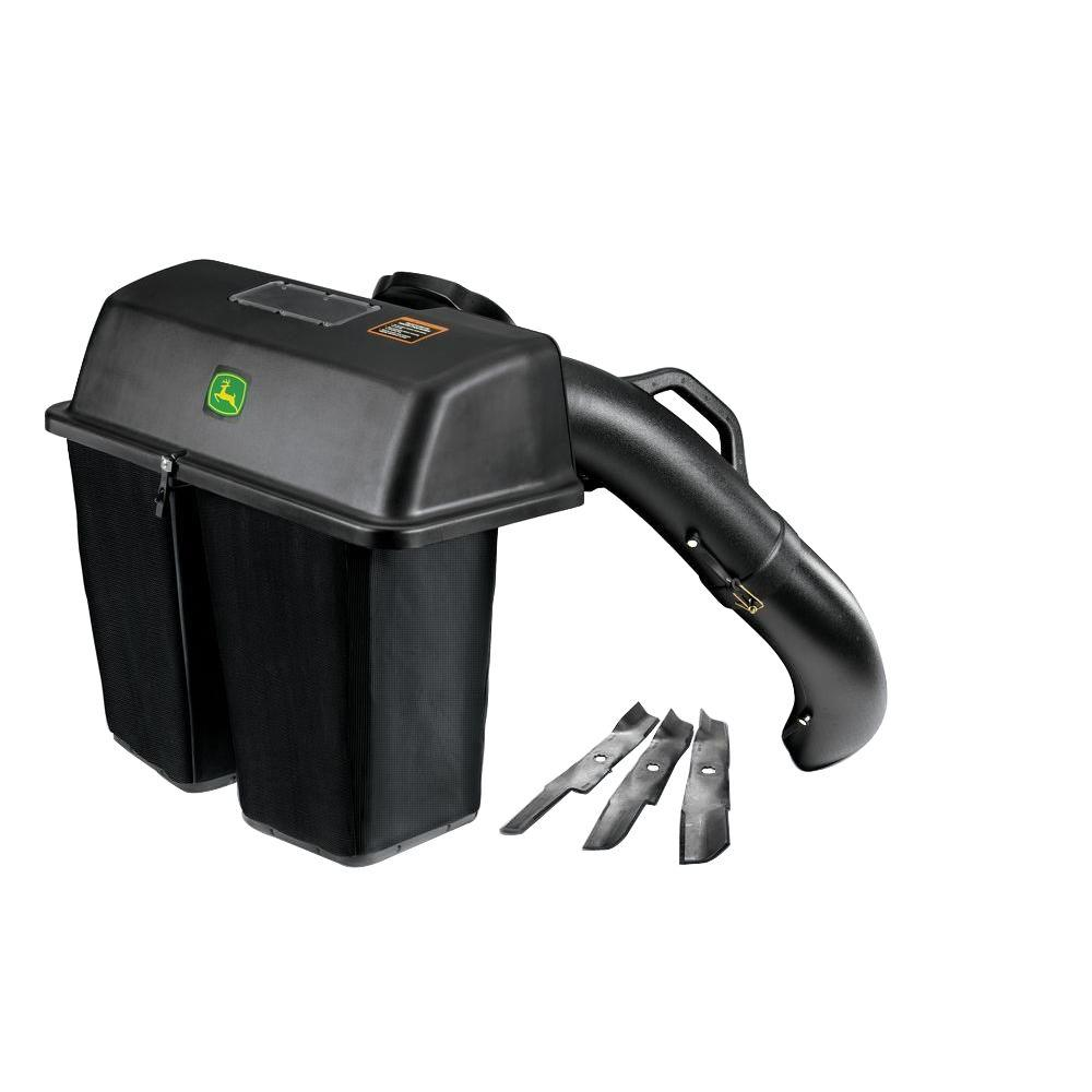 hight resolution of john deere 48 in twin bagger for 100 series tractors bg20777 the home depot
