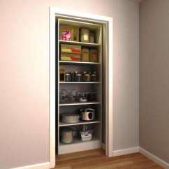 Kitchen Pantry Storage Unfinished Cabinets Organizers Organization The Home Depot 30 In W X 15 D 84 H White Wood