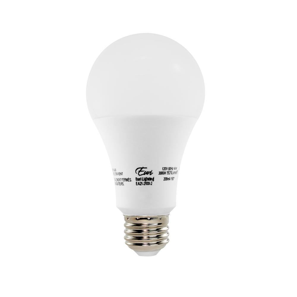 Connected 60w Equivalent Soft White A19 Dimmable Led Light Bulb