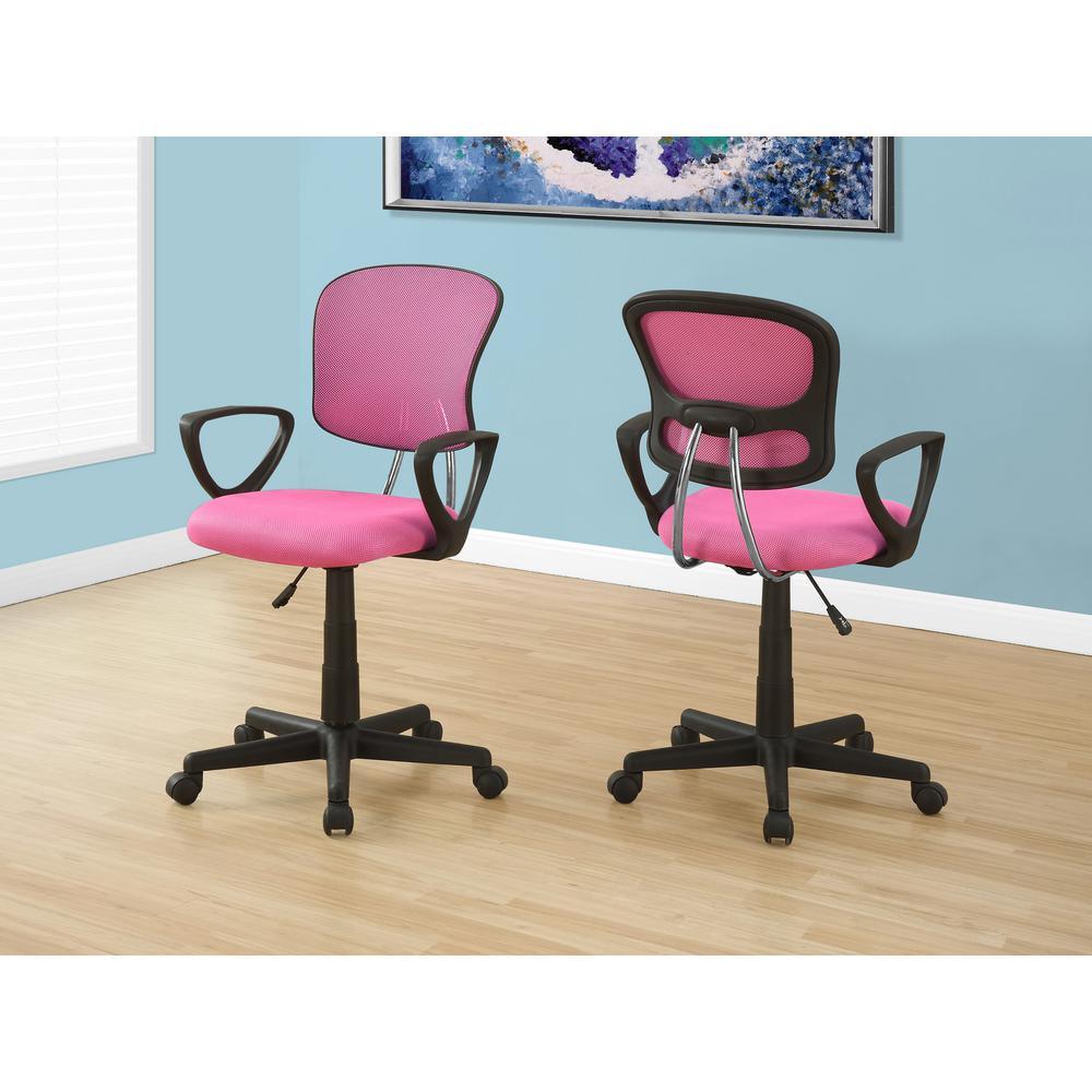kids office chairs ll bean rocking chair cushions mesh desk pink home multi position