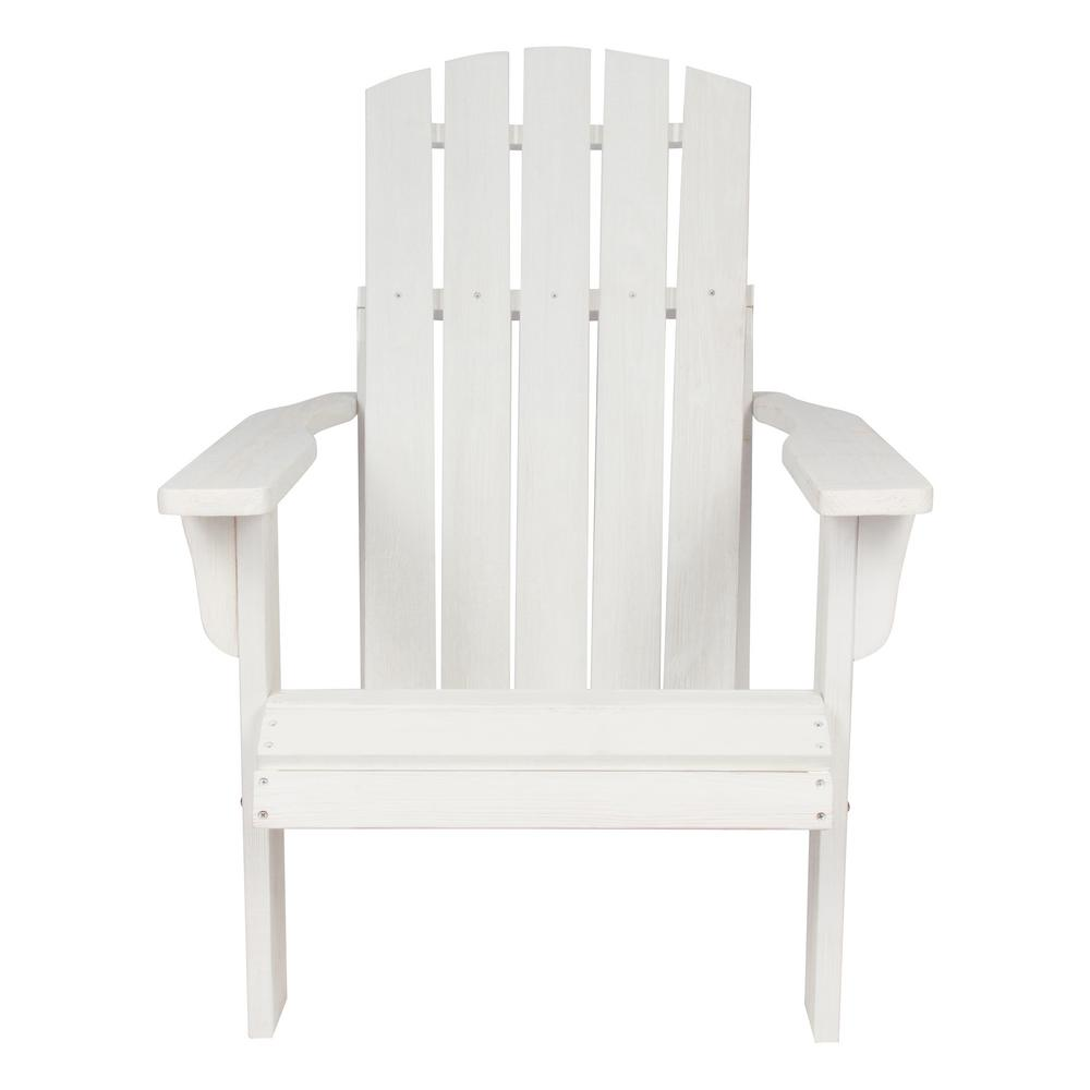 distressed adirondack chairs wheelchair access ramp shine company lakewood cedar wood rustic chair white 5616dw the home depot