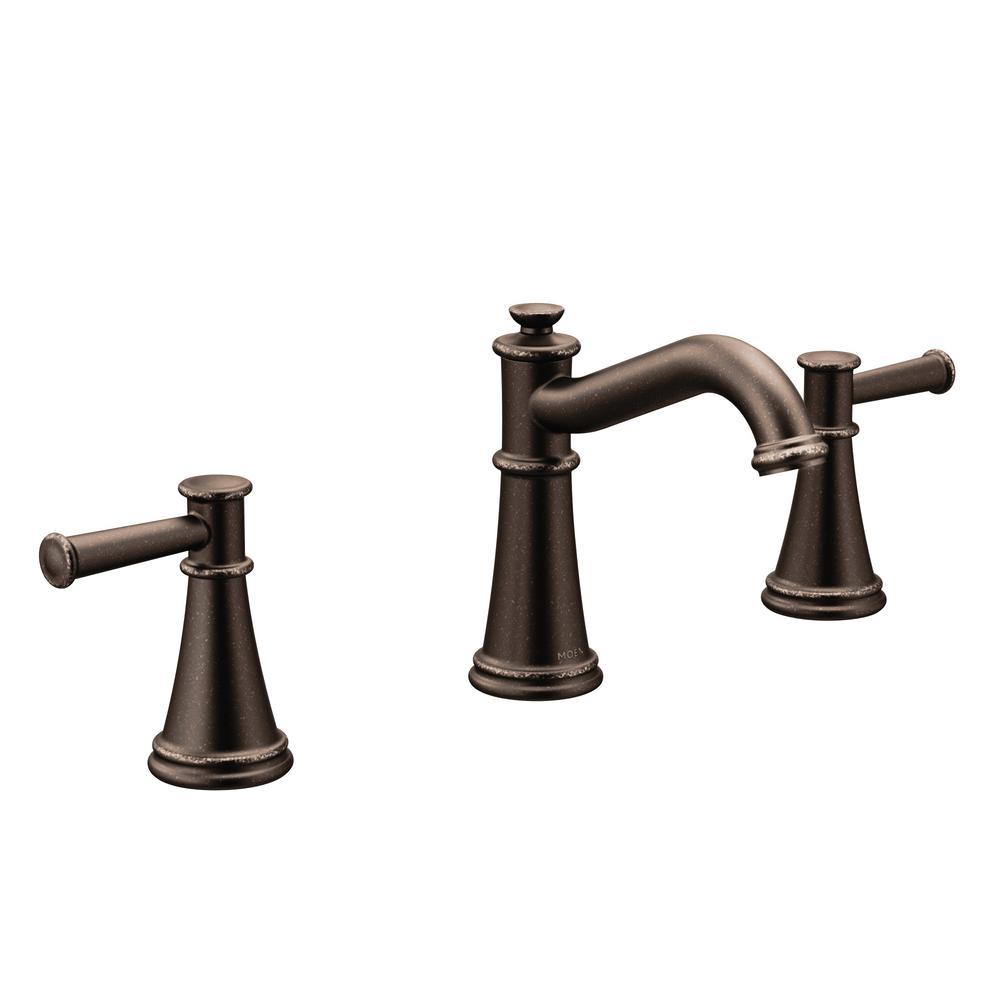 MOEN Belfield 8 in Widespread 2Handle Bathroom Faucet in