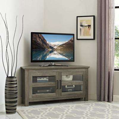 corner media units living room furniture rugs size tv console unit stands the grey wash wood