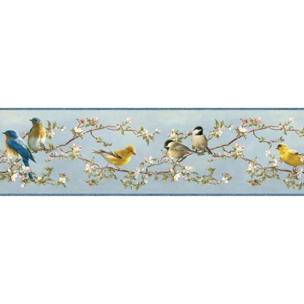 Chesapeake Vandalia Songbird Wallpaper Border-tll48511b