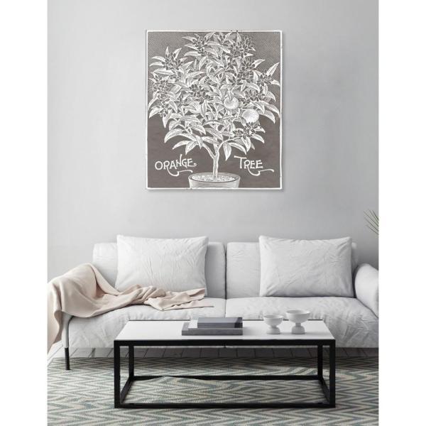 "Oliver Gal Artist . 20 In. X 17 ""orange Tree"